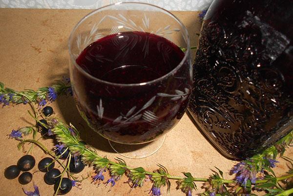 витаминный напиток из черноплодки