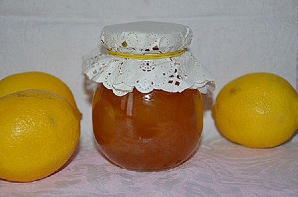 джем из дыни и лимона
