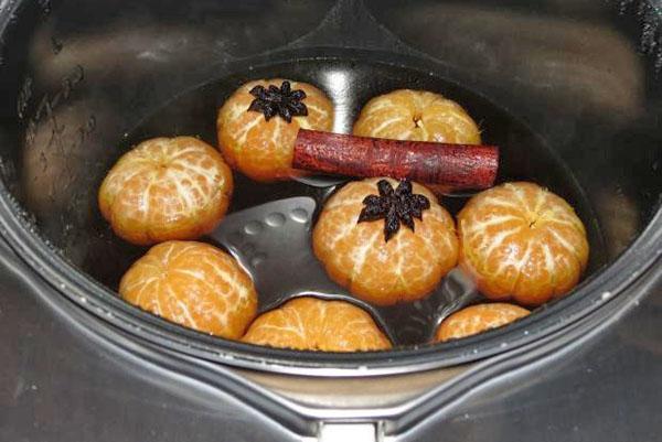 мандариновое варенье в мультиварке