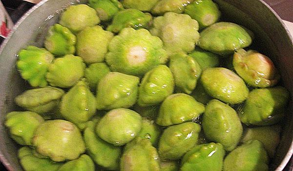 патиссоны в маринаде