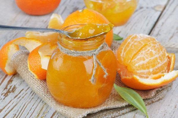 солнечное апельсиновое варенье