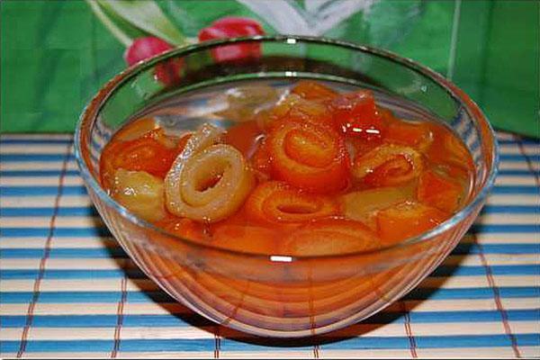 варенье из корок мандарин