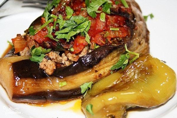 готовые баклажаны по-армянски в духовке