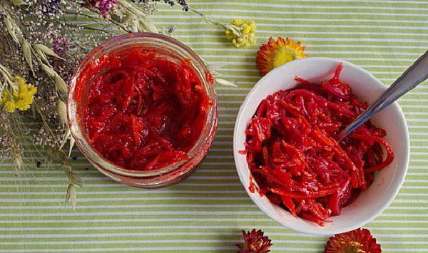 борщевая заправка и салат