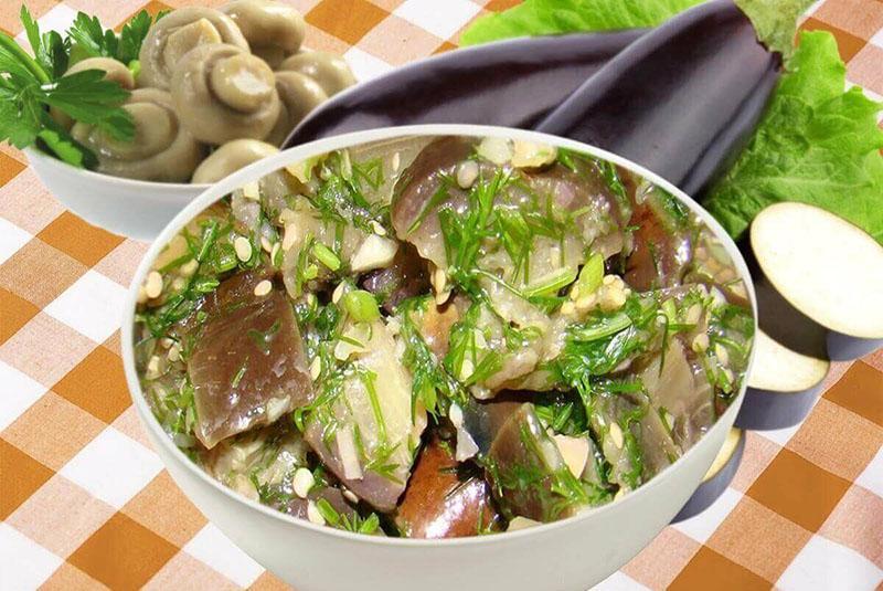 быстро и вкусно баклажаны как грибы, рецепты зимних заготовок
