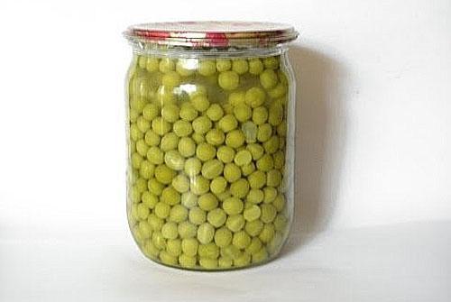 зеленый горошек без стерилизации