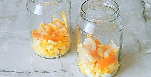 добавить цедру цитрусовых и апельсин