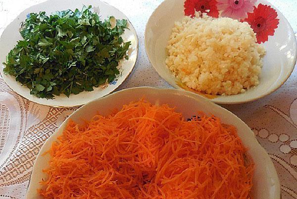 овощи для начинки баклажан
