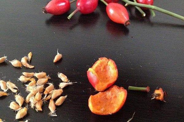разрезать ягоды и удалить семена
