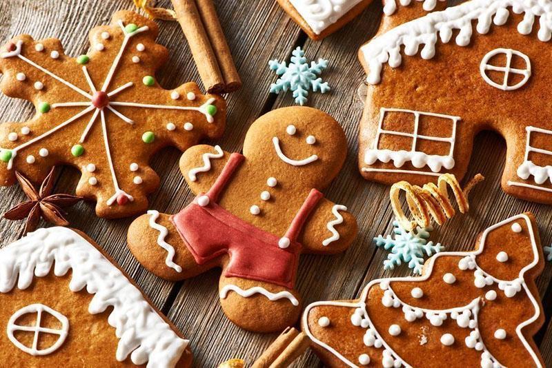 Имбирное печенье ‒ рецепт и его вариации, советы мастеров || Имбирное печенье цветы