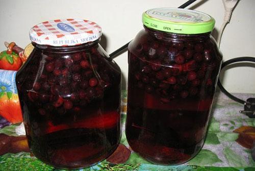 рецепты на зиму рябина
