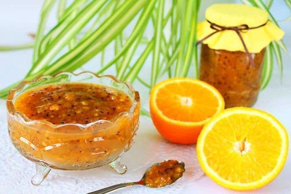 крыжовниковое желе с апельсином и лимоном