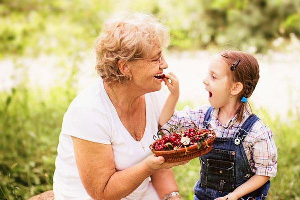 черешня для взрослых и детей