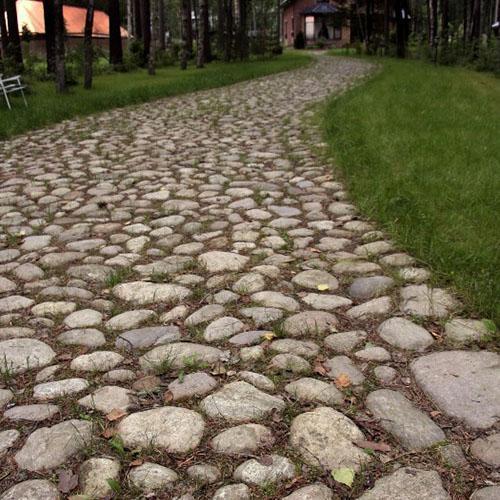 дорожка из каменной кладки