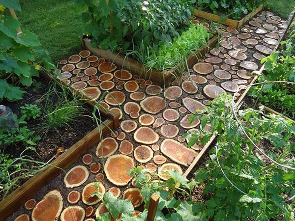 креативный дизайн дорожки в вашем саду
