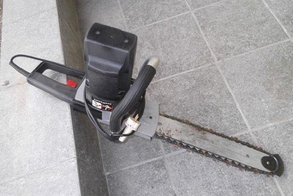электропила Парма старого образца