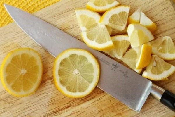 нарезать лимон для варенья