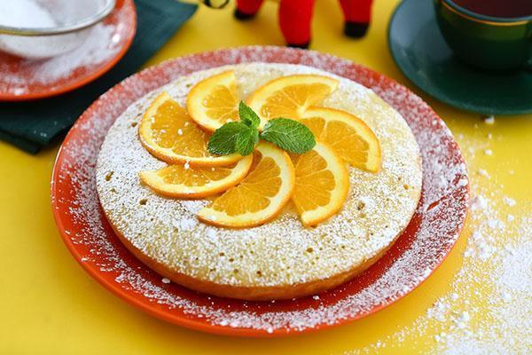 апельсиновый пирог в мультиврке