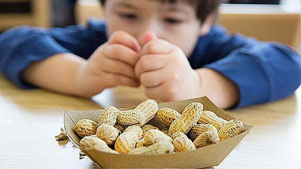 арахис любят дети