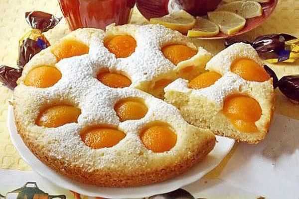 пирог с абрикосами по классическому рецепту