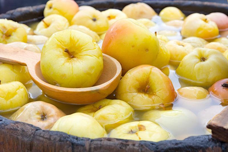 простой рецепт моченых яблок