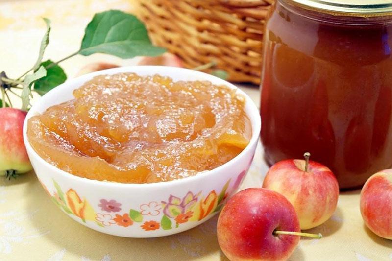 Варенье из яблок, 8 лучших рецептов яблочного варенья на зиму