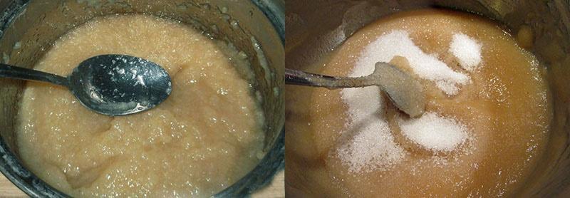 процесс приготовления яблочного повидла