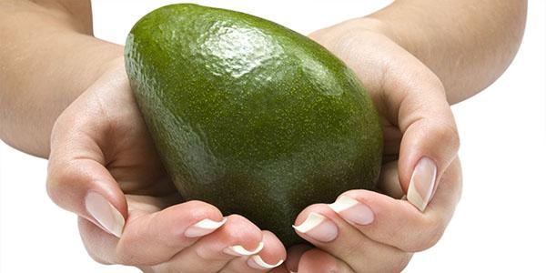 красивые ногти с маслом авокадо