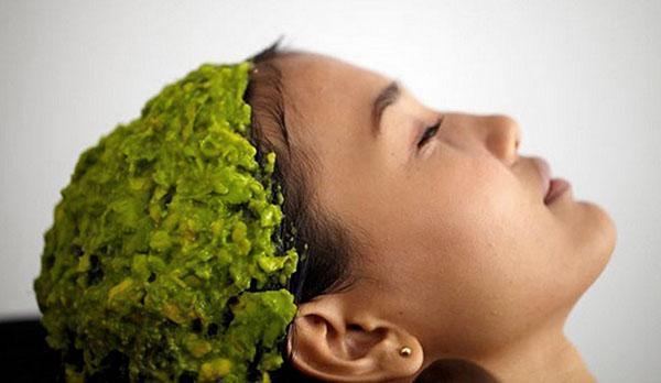 маска с маслом авокадо для волос