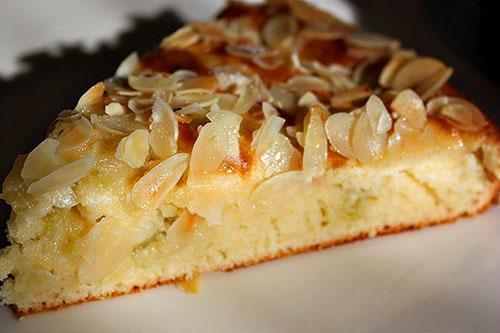 пирог с ревенем на кефире
