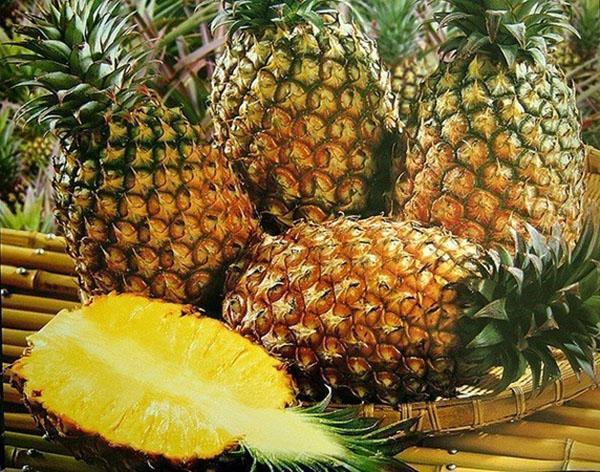 сочные сладкие ананасы