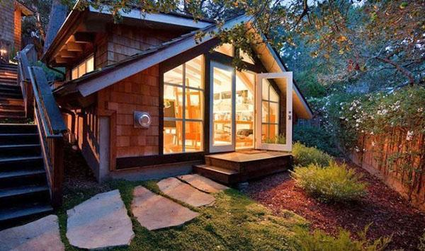 дачный домик по индивидуальному проекту