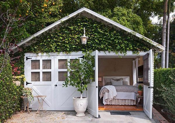 дачный домик в стиле минимализма