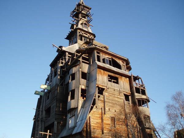 деревянный дом без гвоздей