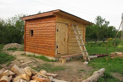 деревянный сарай своими руками