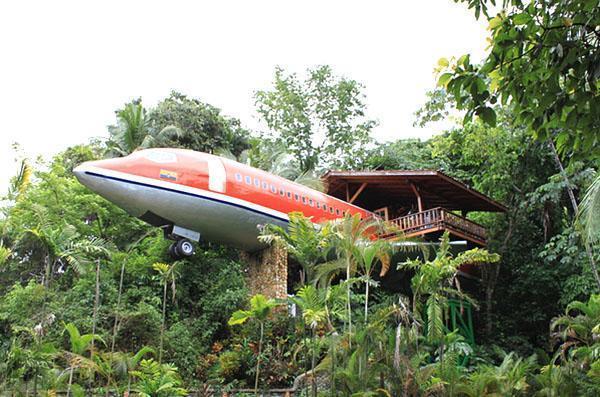 дом самолет