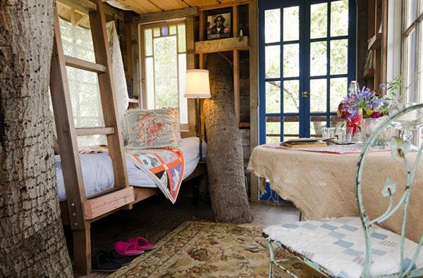 летняя спальня на дереве