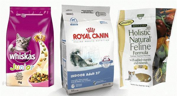 качественный корм для котов