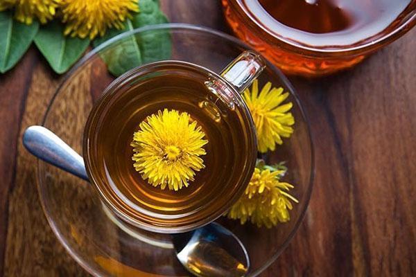 лечебный одуванчиковый чай