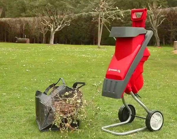 маломощный садовый измельчитель