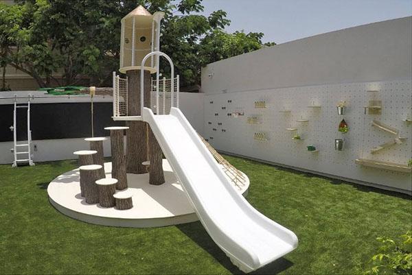 современный дизайн детской площадки