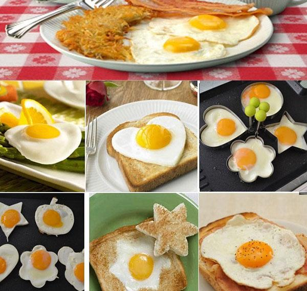украшаем завтрак