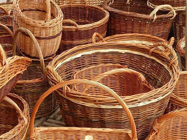 korziny-iz-ivovykh-prutev Плетение из прутьев ивы для начинающих