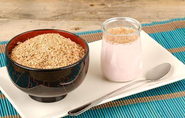 дозированное употребление пшеничных отрубей