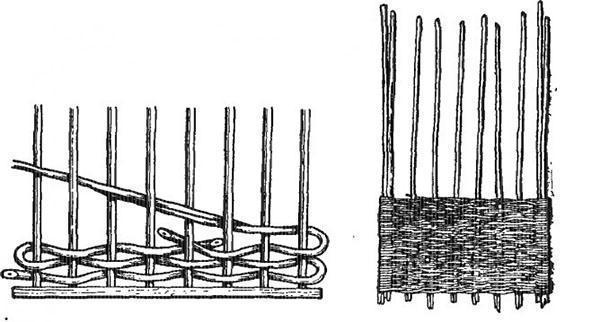 prostoe-pletenie-korziny Плетение из прутьев ивы для начинающих