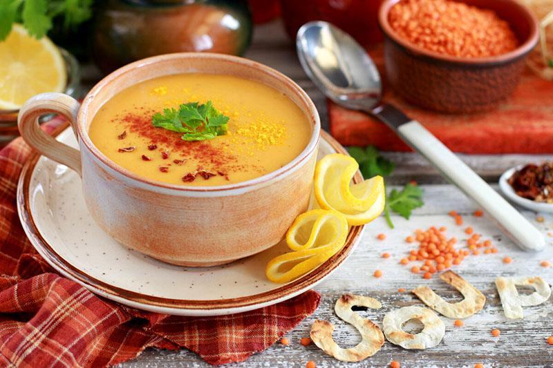 чечевичный суп из солнечной Турции