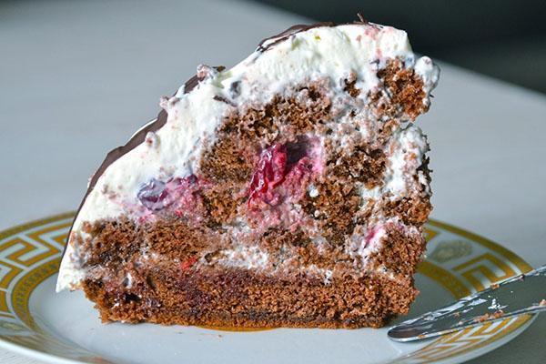 торт Панчо с вишней