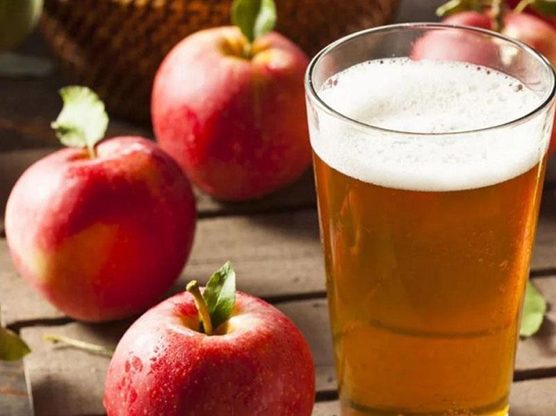 хмельной напиток из яблок