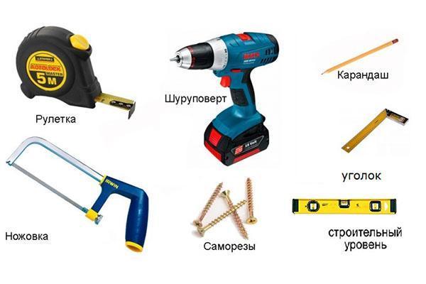 инструменты для изготовления калитки