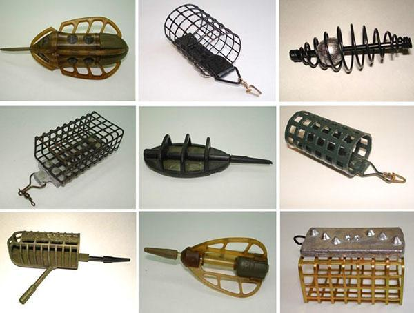 кормушки для рыбалок разных видов